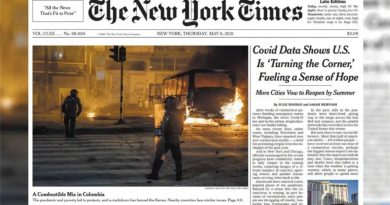 THE NEW YORK TIMES EN SU PORTADA: ABUSO POLICIAL EN COLOMBIA!