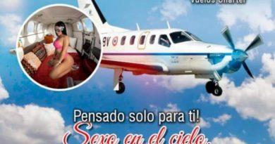 EMPRESA OFERTA TENER SEXO SOBREVOLANDO MEDELLÍN EN AVIONETA